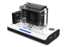 MOTA GoPro Action Camera Wireless Charger - Photographers who own a GoPro action camera might be interested in a new wireless charging solution which has been specifically created for the Hero 3 and Hero 4 GoPro cameras. This charger removes the need to constantly swap batteries when you have finished recording footage, and allows you to enjoy the capacity of a 6,000 mAh battery complete with LED status lights.   Geeky Gadgets