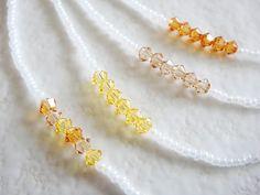 "Autumn Shade Friendship Necklace   Length - 40cm (around 15.7"")"