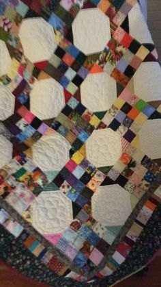Third quilt quilted by and delivered to Westerville Communications dispatchers by Barbara D. Ohio!