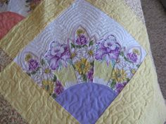 Kay'z Quiltz: My Quilt for the Blogger's Quilt Festival: A Handkerchief Grandmother's Fan Quilt