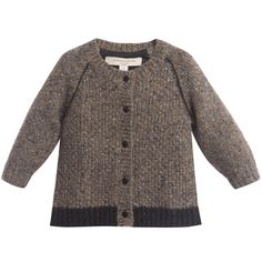 Caramel Baby & Child Whinfell Baby Knitted Cardigan at Childrensalon.com