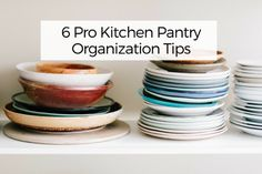 6 Pro Kitchen Pantry Organization Tips