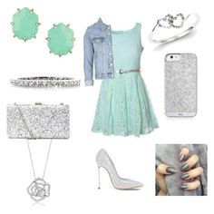 Where is the party?? by aliciahokanson on Polyvore featuring polyvore, moda, style, Glamorous, Topshop, Casadei, Kendra Scott, Mark Broumand, Kevin Jewelers, BERRICLE, fashion and clothing