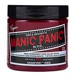 - Vampire Red™ Classic Cream Formula #HCR11032 by Manic Panic -- this gives me the red I want on my dark hair. Love this stuff!