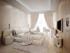 Интерьер спальни: