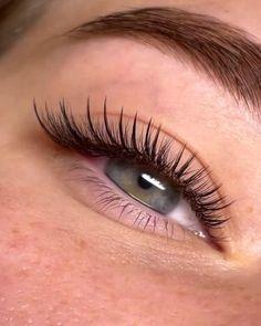 Curling Eyelashes, False Eyelashes, Eyelash Extensions Styles, Natural Looking Eyelash Extensions, Eye Makeup Art, Makeup Inspo, Perfect Eyelashes, Henna Brows, Individual Lashes
