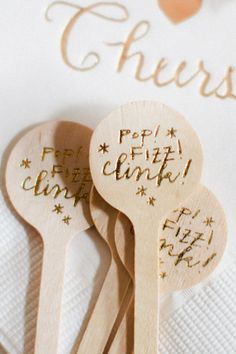 calligraphy cocktail stir stick / photo by shalyn nelson of love. Martini, Stick Photo, A Little Party, Learn Calligraphy, Diy Party, Party Ideas, Gift Ideas, Jolie Photo, Party Entertainment