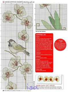 Orchids from the Orient chart1