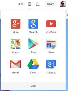 Google's New Google Bar