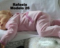 Boneca Bebê Reborn Rafaela toda em vinil