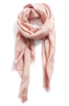 Mother's Day gift | Pretty pink scarf that's light weight for cool spring and summer nights @nordstrom