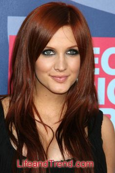 Beautiful Hair Color for Red Face