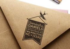 MarketHouse Custom Rubber Stamps - Classic No. 3