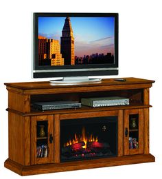 Nice Tv Fireplace | patriotic | Pinterest | Fireplace tv stand, Tv ...