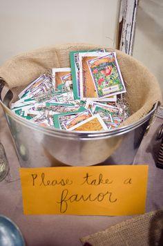 bucket of favors
