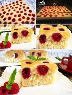 Frambuazlı Kek Tarifi nasıl yapılır? 313 kişinin defterindeki Frambuazlı Kek Tarifi'nin resimli anlatımı ve deneyenlerin fotoğrafları burada. Yazar: esin akan