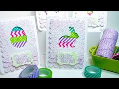 Easy Easter Window Cards with Free Templates! Create this set of Easter cards using inexpensive supplies from our sponsor Papermart: http://www.papermart.com...