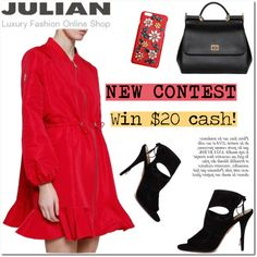 JULIAN FASHION: Contest with prize($20 cash) on Polyvore