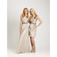 Satin Bridesmaid Dress #Bridesmaid #Dress
