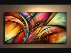 PAINTINGS, Fine Art, by Mix Lang ABSTRACT,URBAN, EXPRESSIONIST,REALISM