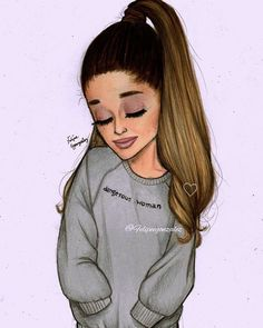 @arianagrande dangerous woman sweater❤❤❤ pls tag her and hope u liked Im so proud of this one and I like how the sweater looks  follow my personal @felipegoca if u want