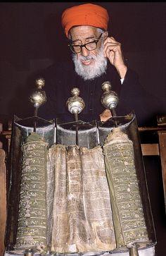 Samaritan - Hebrew Scroll, Israel