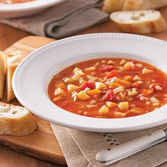 Soupe aux légumes, poulet et orge - 5 ingredients 15 minutes Crockpot Recipes, Healthy Recipes, Healthy Food, Stew, Slow Cooker, Food To Make, Food And Drink, Yummy Food, Cooking