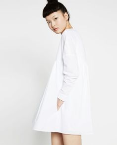 Image 4 of JUMPSUIT DRESS WITH BACK BUTTONS from Zara