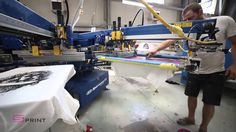 Learn how sPrint Textile represents quality care- placed into the process and the people behind in its creation. Textile Prints, Textiles, Screen Printing, Digital Prints, Channel, Embroidery, Youtube, Decoration, Screen Printing Press