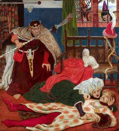 Ford Madox Brown. Death of Tristan.