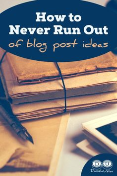 One of the hardest parts of blogging is consistently coming up with blog post ideas. Do these 9 things and you'll never run out of ideas to blog about!