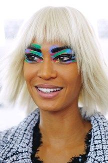 Chanel: Hair & Make-Up Spring Summer 2014 (Vogue.com UK) ARE YOU SERIOUS?????????????