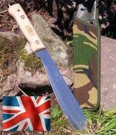 british golok machete