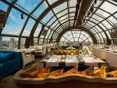 White Rabbit restaurant, Moscow