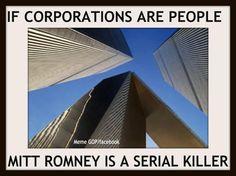 Serial killer, psychopath, Narcissist, Pathological liar, Bigot, Racist, Homophobic, the list goes on and on