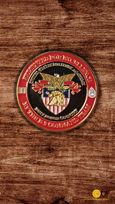 A West Point U.S. Military Academy challenge coin we created for a customer! Soft enamel coins like this one are always a good idea if you have small details you need to jump off of your coins.