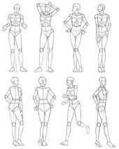 New fashion drawing poses simple Ideas Pencil Art Drawings, Art Drawings Sketches, Sketch Art, Human Figure Drawing, Figure Drawing Tutorial, Human Body Drawing, Drawing Reference Poses, Drawing Tips, Drawing Hands