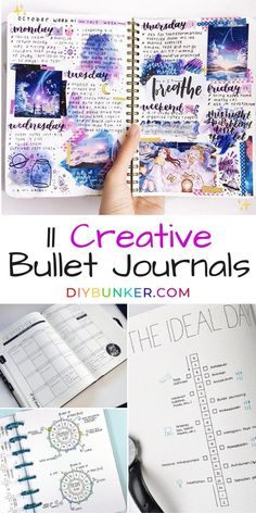 11 Creative Bullet Journal Pages 2019 LOVING these creative bullet journal spreads! Some of these are great bujo ideas for beginners too! The post 11 Creative Bullet Journal Pages 2019 appeared first on Scrapbook Diy. Bullet Journal Font, Bullet Journal Spread, Bullet Journals, Journal Layout, Journal Pages, Journal Ideas, Creative Journal, Work Planner, Happy Planner