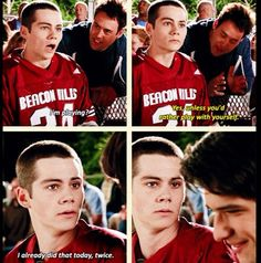 teen wolf 30 day challenge, day 4 least favorite episode 2x11- bc Allison is being absolutely annoying . but i love the Lydia came to support stiles at his game.