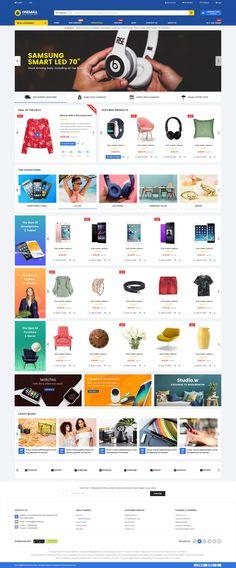 OneMall - Multipurpose eCommerce & MarketPlace WordPress Theme #multipurpose #page builder #shop • Download ➝ https://themeforest.net/item/onemall-the-multipurpose-ecommerce-marketplace-wordpress-theme/20685400?ref=rabosch