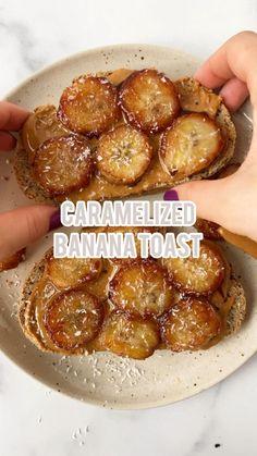 Caramelized Banana Toast