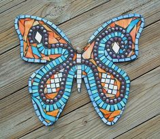Image result for butterfly mosaic