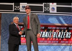 Illini center Meyers Leonard was selected by the Portland Trail Blazers with the 11th pick of the 2012 NBA Draft.
