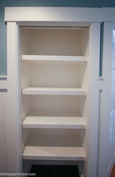 Inspirational Hall Closet Shelving