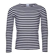 Blunt EKO Long T-shirt Long Sleeve Navy Stripe   Vaella Clothes   Wolf & Badger  /  Men / Clothing / Jumpers & Cardigans