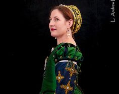 Renaissance Dress, Tudor, Elizabethan, Costume, Bridal Gown (Made To Order) - - LAY AWAY AVAILABLE