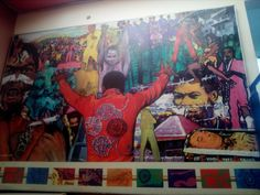 Kalakuta Republic Museum Lagos Fela Kuti, Museum, Painting, Art, Art Background, Painting Art, Kunst, Paintings, Performing Arts