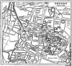 35 Best Maps of Oxford images