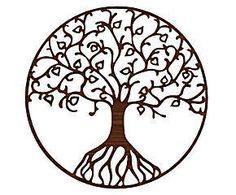 Quadro árvore da vida natural - land