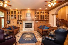 glass fronted book cases 3000 Lavender Ln, Edmond, OK 73013 | MLS #586872 | Zillow
